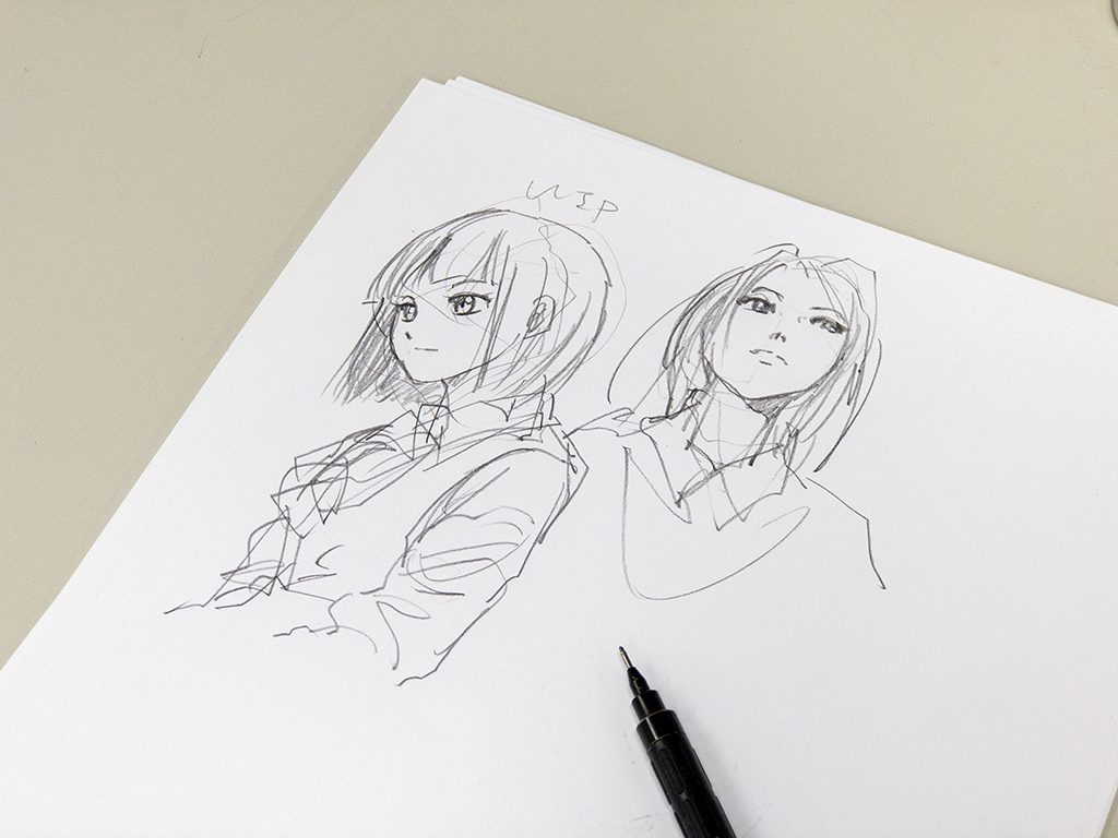 手書きイラストの画像